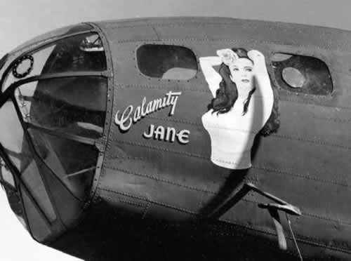 "B-17 Flying Fortress ""Calamity Jane"""