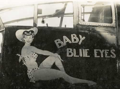 "B-25 Mitchell ""Baby Blue Eyes"""