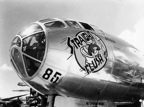 "B-29 Superfortress ""Straight Flush"""