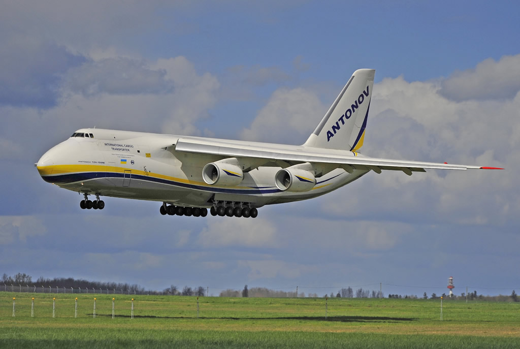 An-124-100M International Cargo Transporter, Registration UR-82007, Antonov Airlines