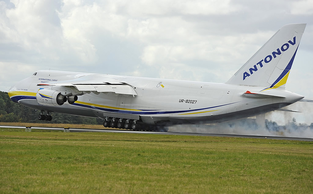 An-124-100M International Cargo Transporter, Registration UR-82027, Antonov Airlines