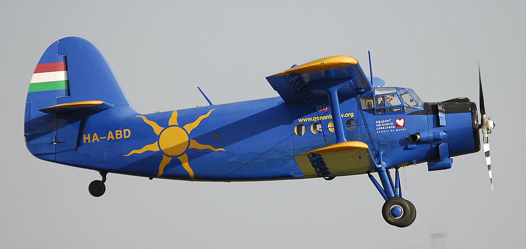Antonov An-2, Registration HA-ABD