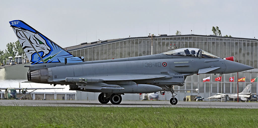 Eurofighter Typhoon of the Italian Air Force