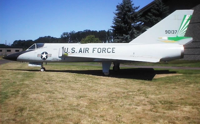 F-106A Delta Dart S/N 59-0137, Evergreen Aviation and Space Museum, McMinnville, Oregon