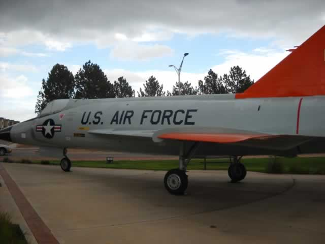 F-102A Delta Dagger on display at the Peterson Air & Space Museum in Colorado Springs, CO