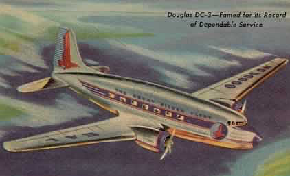 Eastern Airlines Douglas DC-3