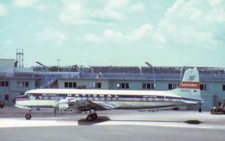 DC-7 of National Airlines
