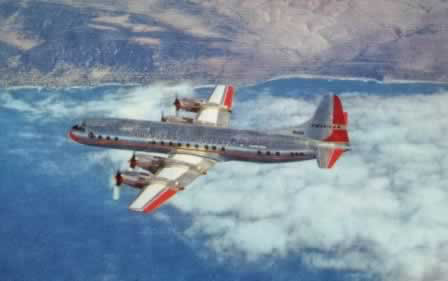 Lockheed Electra - American Airline