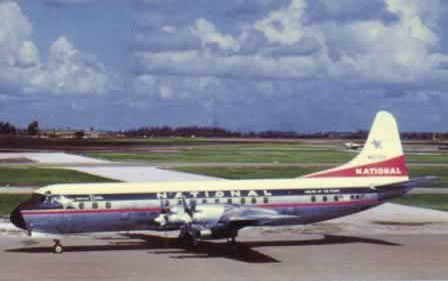Lockheed Electra - National Airlines