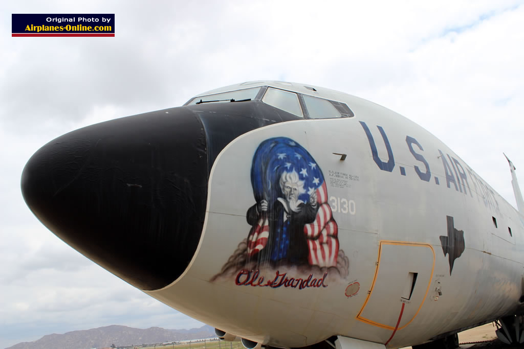 "KC-135A, S/N 55-3130, ""Ole Grandad"" of the U.S. Air Force, at the March Field Air Museum in California"
