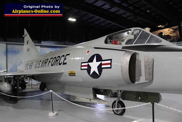 F-102A Delta Dagger S/N 56-1151, Buzz Number FC-151