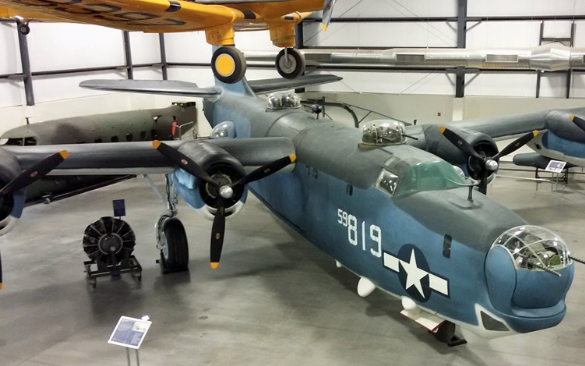 PB4Y-2 Privateer 59-819 at the Pima Air and Space Museum in Tucson, Arizona