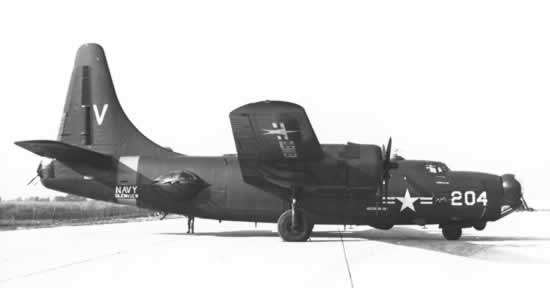 PB4Y-2 Privateer 204 on the apron
