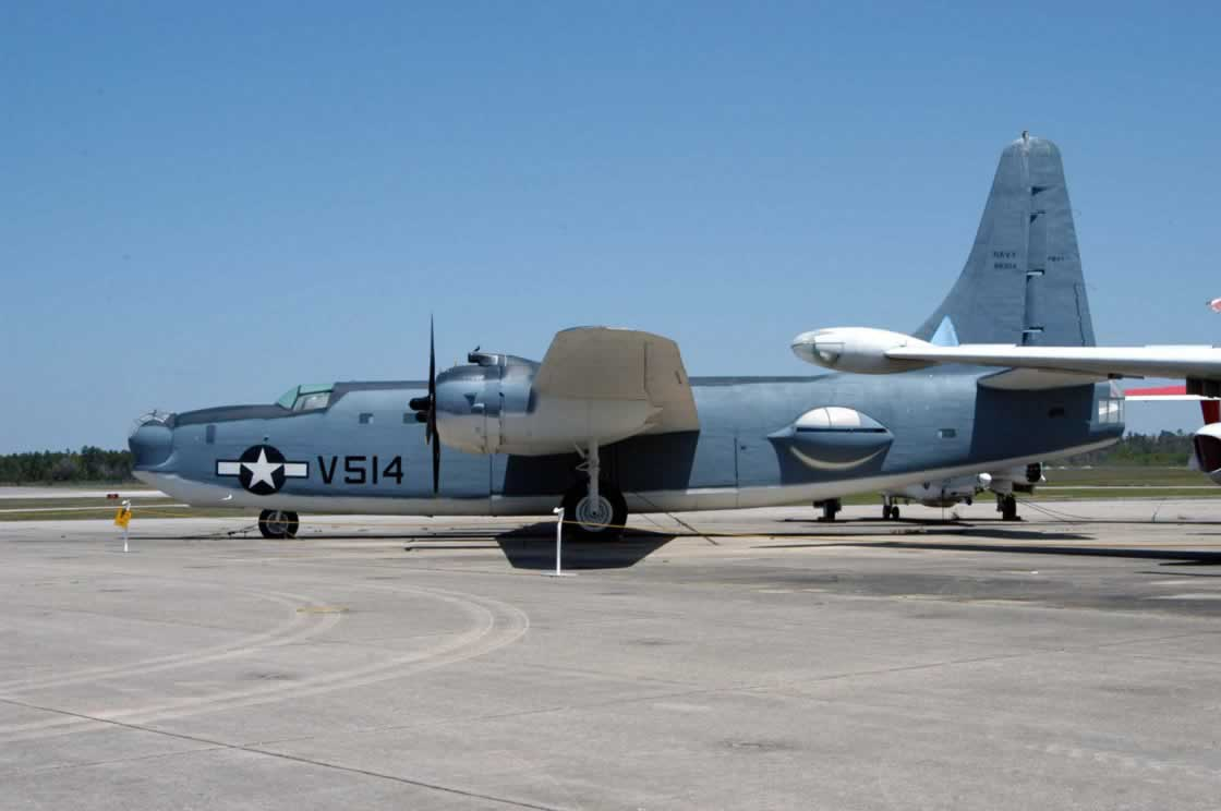 PB4Y-2 Privateer at the National Naval Aviation Museum in Pensacola, Florida