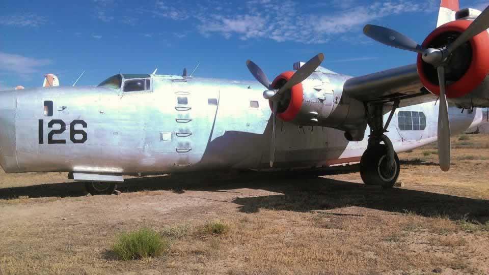 PB4Y-2 Privateer firefighter 126 at the Museum of Flight & Aerial Firefighting in Greybull, Wyoming