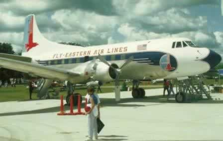 Eastern Airlines Martin 404 airliner