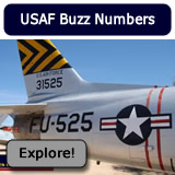U.S. Air Force Buzz Numbers