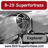 Website about the B-29 Superfortress